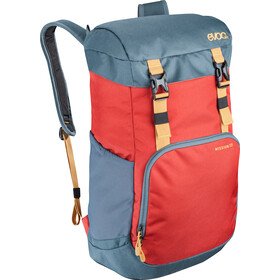 EVOC Mission Rugzak 22L, chili red-slate